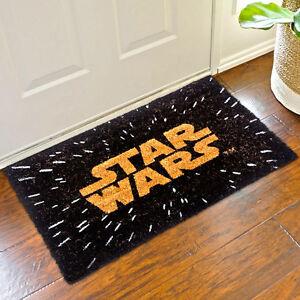 Zerbino-Star-Wars-Disney-Fibra-di-Cocco-60-x-40-cm-Tappeto-Casa-Colore-Marrone