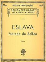 Metodo De Solfeo Complete Voice Technique Vocal Method 050258770