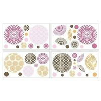 Cocalo Baby Iris Collection Decorative Nursery Removable Wall Appliques Stickers