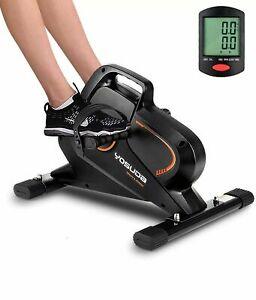 YOSUDA Under Desk Bike Pedal Exerciser Magnetic Mini Exercise Bike