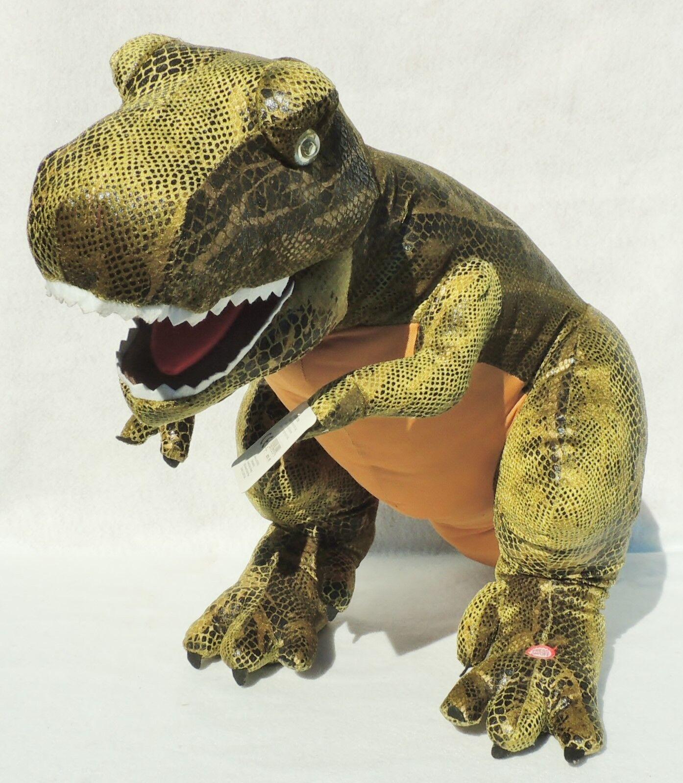NEW Large 30  Universal Studios T-Rex Dinosaur ROARS Light ANIMATED Plush Toy