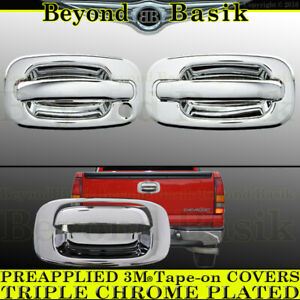 1999-2006 GMC Sierra Stainless Steel Chrome Door Handle Cover Housing Only