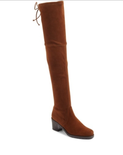 NEW  798 STUART WEITZMAN ELEVATED OVER THE THE THE KNEE OTK SUEDE Stiefel 5.5 WALNUT d7c2aa