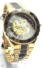 Elgin Man Skeleton, Automatic, Two-tone, Dress Watch, FG8002