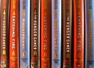 The Hunger Games Trilogy 3 Book Set Hardcover Catching ...