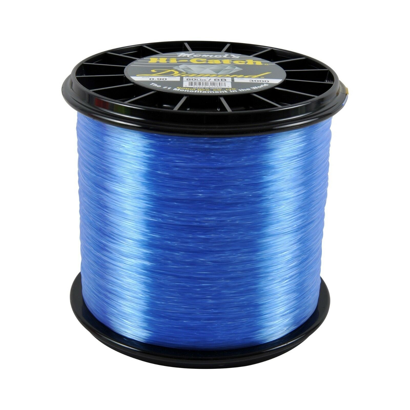 Momoi Diamond Monofilament Fishing Line 3000 Yards - Brilliant bluee - Free Ship
