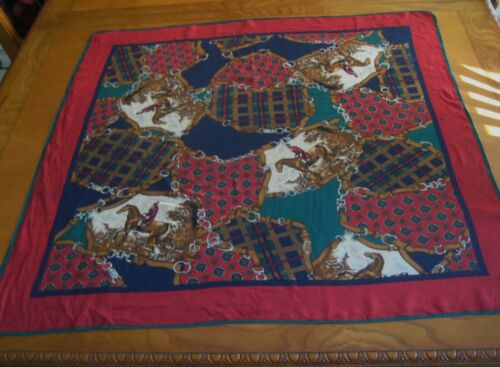 Vintage Specialty House Inc. 100% Silk Scarf Polo