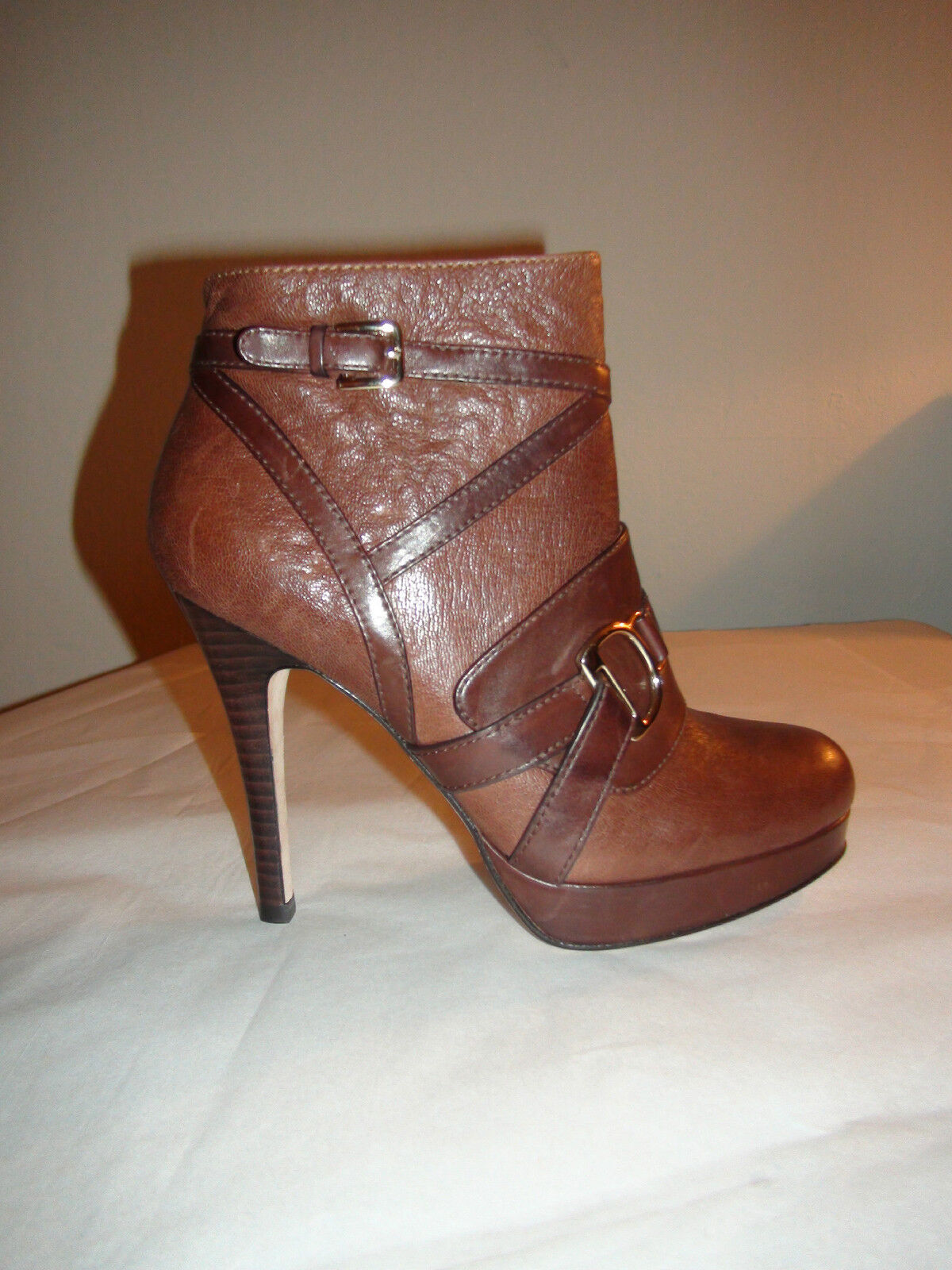 Cole Haan Women's Carolyn Ankle Boot Sequoia/Chestnut Brown New Sz 6 Fall 2012