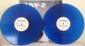 Jay z the blueprint original promo blue vinyl 2 lp 2001 rocafella jay z the blueprint original promo blue vinyl malvernweather Image collections