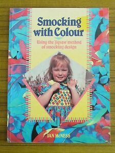 SMOCKING-WITH-COLOUR-using-039-JIGSAW-039-METHOD-JAN-McNESS-DRESSES-FOR-GIRLS