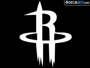 HOUSTON ROCKETS Basketball Vinyl Decal Car Wall Window Sticker CHOOSE SIZE COLOR