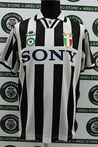Maglia-calcio-JUVENTUS-DEL-PIERO-TG-M-1995-96-shirt-trikot-jersey-maillot