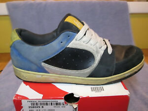 028562785f5cb Details about Es ACCEL 3G NAVY WHITE VINTAGE SKATE SHOES MENS SIZE 10.5