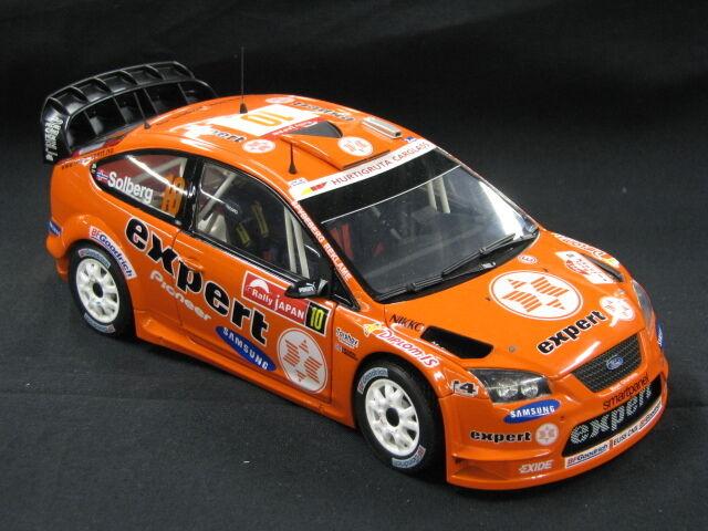 Sun Star Ford Focus WRC 2007 1:18  10 Solberg / Uomokerud Rally Japan  MCC