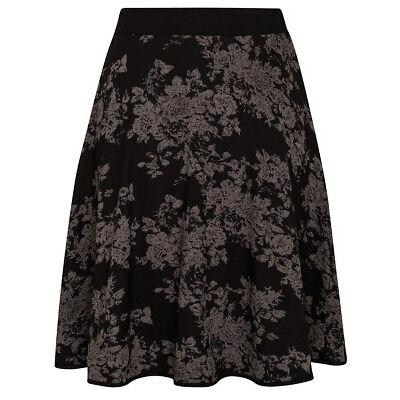 Vive Maria DARK ROSES Vintage Rosen allover Skirt / ROCK Rockabilly