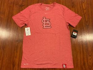 0adbff8c Details about Nike Men's St Louis Cardinals Fan DNA Dri Fit Jersey Shirt  Large L Baseball MLB