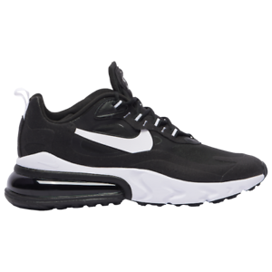 Nike Air Max 270 React Black White Mens 2020 Running New Ebay