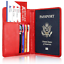Slim-Leather-Travel-Passport-Wallet-Holder-RFID-Blocking-ID-Card-Case-Cover-US thumbnail 37
