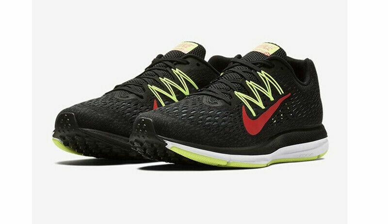 Bigote Estimar Perfecto  Size 10.5 - Nike Air Zoom Winflo 5 Black Bright Crimson for sale online |  eBay