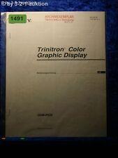 Sony Bedienungsanleitung GDM F520 Graphic Display (#1491)