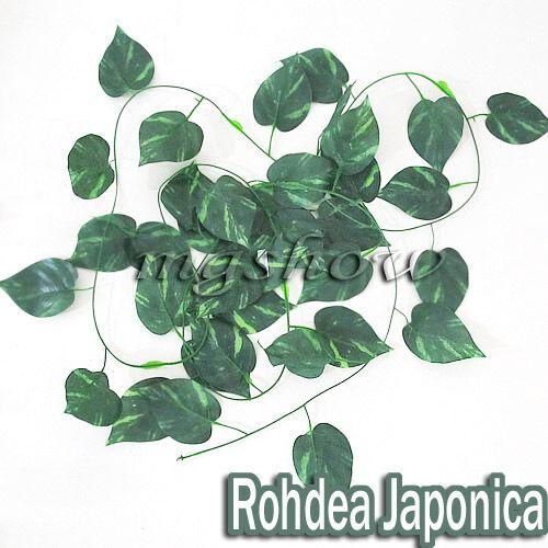 6.56ft-9.19ft Artificial Ivy Vine Leaf Garland Plants Fake Foliage Flowers Deco