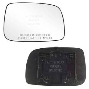 Toyota Camry Side Mirror Replacement ... Mirror-Glass-WITH-BACKING-07-11-TOYOTA-CAMRY-USA-Passenger-Right-Side