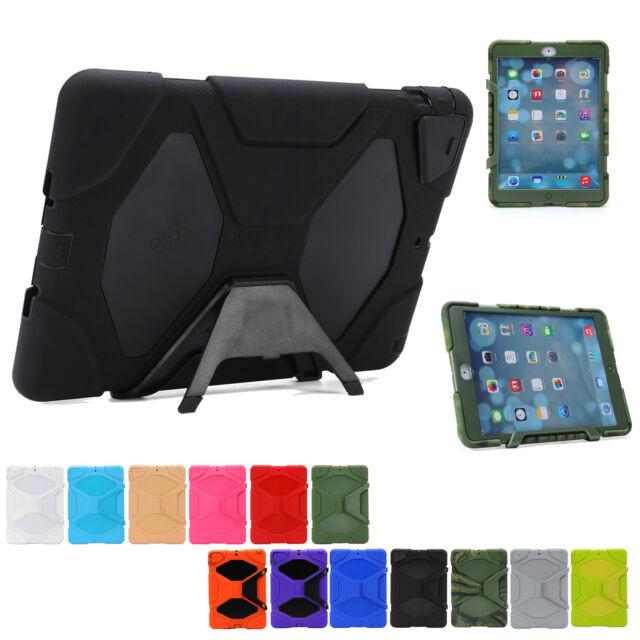 Heavy Duty Tradesman Tough Cover Case for iPad 4 3 2   iPad mini   iPad Air 2