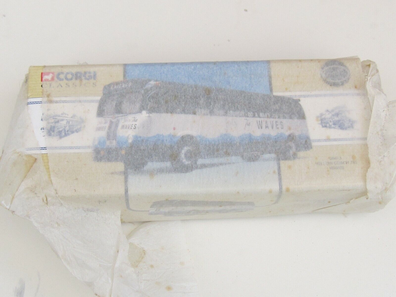 Corgi Classics Join The Waves Model Bus - with original wrapping tissue