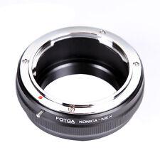 FOTGA Konica AR Lens to E-Mount Adapter fr Sony NEX-5N 5R 5T NEX6 NEX7 A7R A6000
