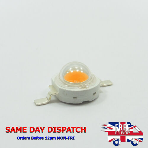 High Power Epistar Chip 1W Plant Grow LED Bulb Diodes Lamp Beads Garden Y40