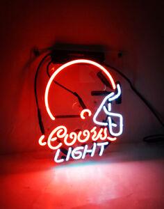 Coors Light Neon Sign Beer Bar