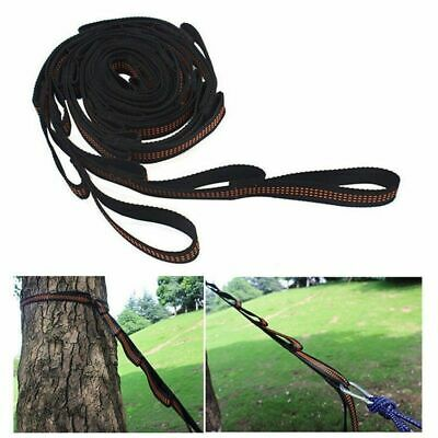 2pcs Adjustable Hanging Tree Swing Extension Ropes Outdoor Kids Climbing Rope 2M