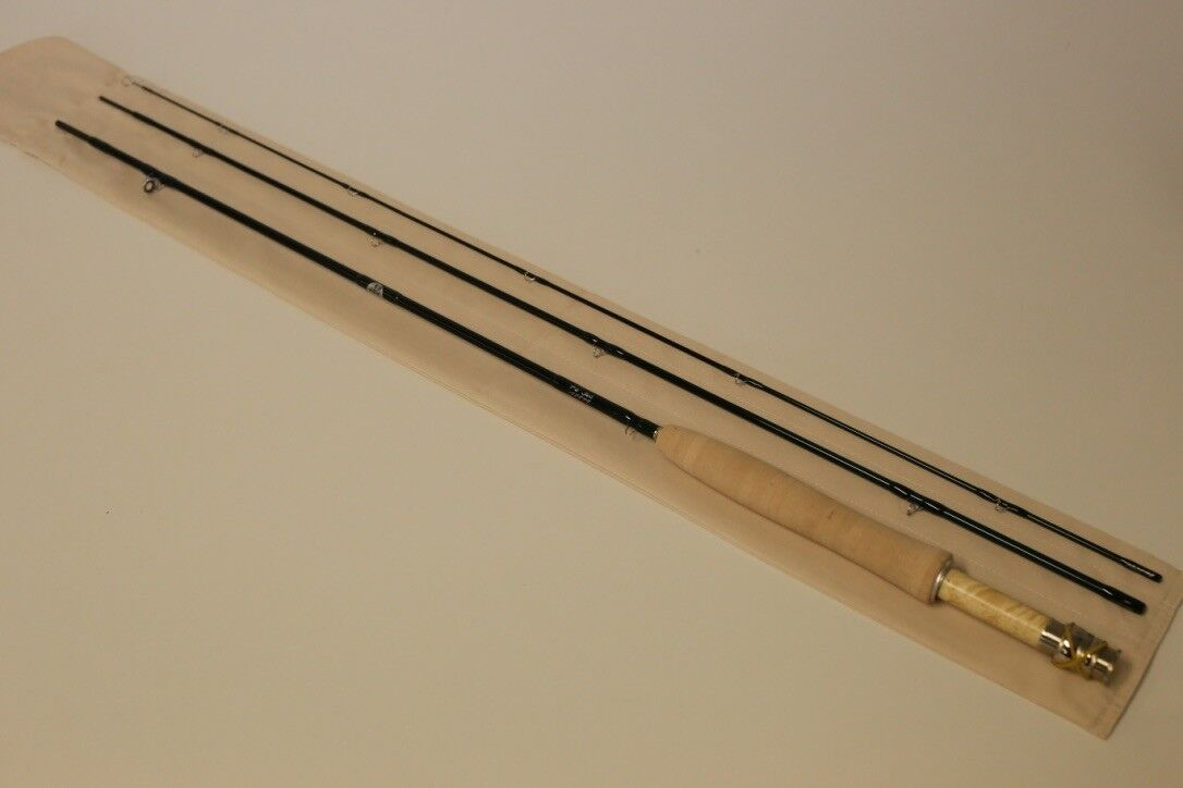 R L Winston 7' 6  3 WT Winston Traditional Fly Rod Free  100 Line Free Shipping