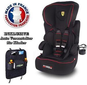 Ferrari-Beline-SP-GT-Limited-Kinderautositz-Gruppe-1-2-3-9-36-kg-Modell-2018