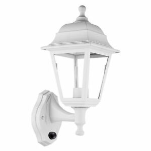 Wall-Mounted-Lamp-Outdoor-Garden-Light-with-Dusk-to-Dawn-Sensor-White