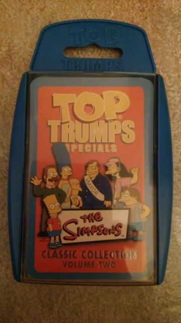 Top Trumps Specials - The Simpsons Classic Collection Volume Two Top Trumps 2007