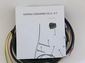 IMPIANTO-ELETTRICO-ELECTRICAL-WIRING-MOTO-MORINI-CORSARINO-50-SCHEMA-ELETTRICO