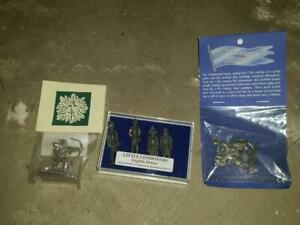 Little-Londoners-English-Pewter-Soldiers-Westair-Knight-Shire-Design-Soldier-NIB