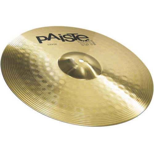 """PAISTE 101 Brass 14/"""" Crash Becken"""