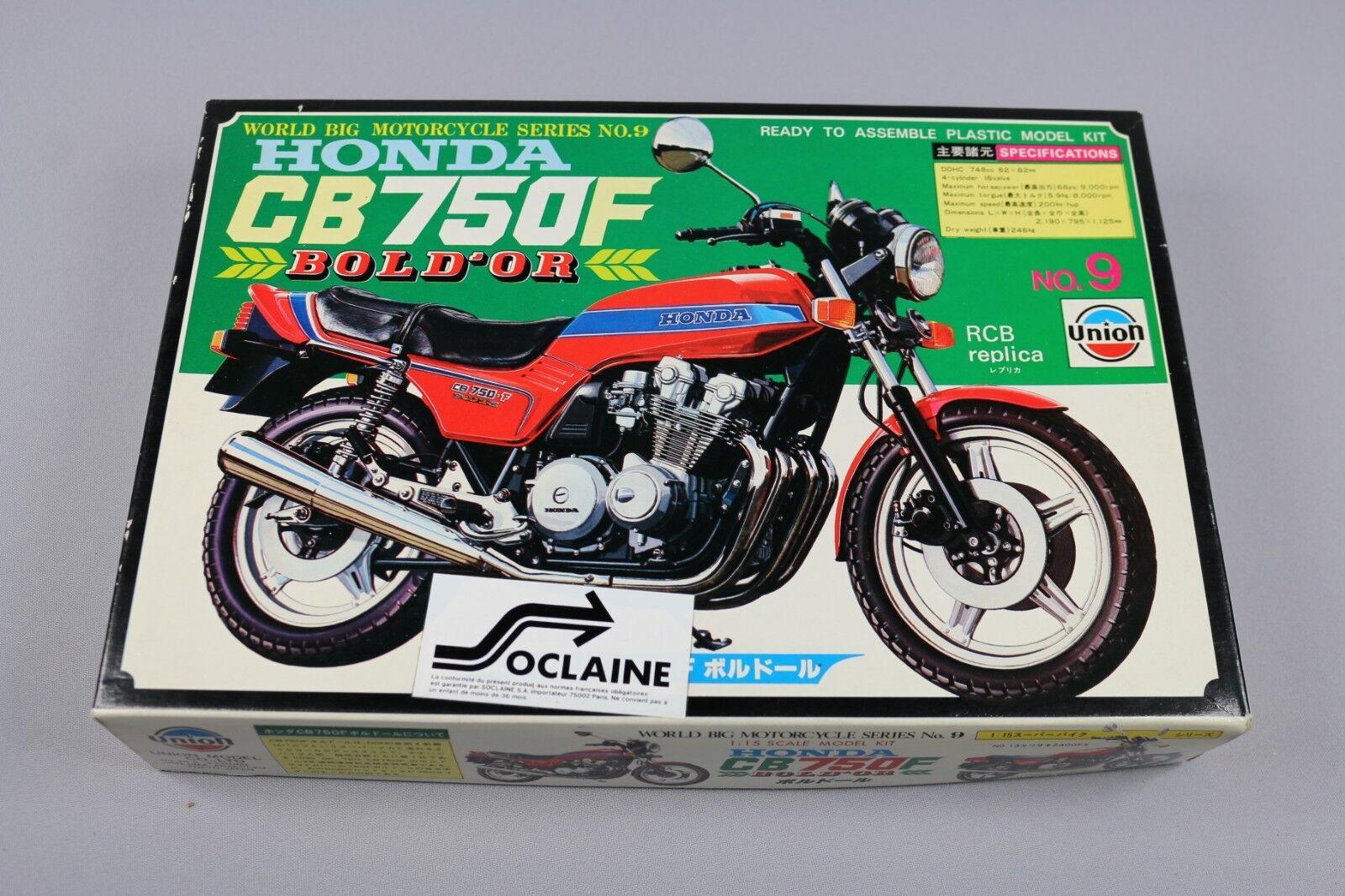 ZF1007 Union 1 15 maquette M-09 700 Honda CB750F Bol d'Or World Motorcycle moto