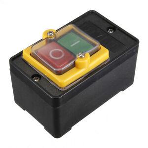 250V-380V-10A-Interruttore-Pulsante-ON-OFF-Switch-Per-Controllo-Macchina