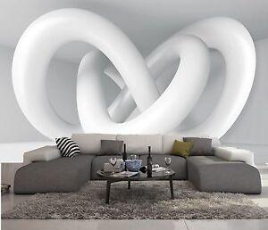 Parati In 3d.Dettagli Su Carta Da Parati 3d Effeto Bianco Sculture Foto Murale Design Moderno