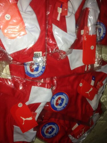 Chile National  team,18  jerseys uniform.Coaches Small,Medium adult red