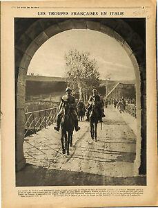 Poilus-Cavalerie-Soldats-de-France-Venetie-Regione-Veneto-Lago-di-Garda-1917-WWI