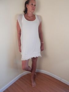sports shoes 0debd 3075b Details zu white silk dress, made in italy, small/med