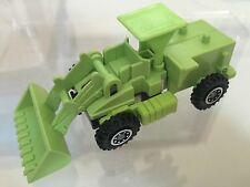 Transformers G1 1985 SCRAPPER figure IGA Plasticos (mexico) devastator