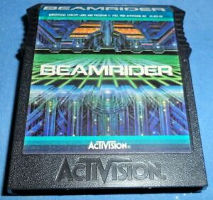 COLECOVISION-BEAMRIDER-game-only-Very-Good-Condition-ACTIVISION