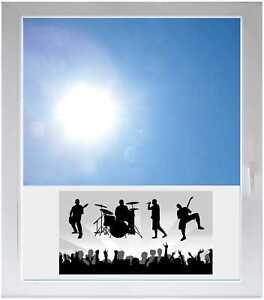 Sichtschutzfolie-Sonnenschutz-Fensterfolie-GMF0575-Musikgruppe