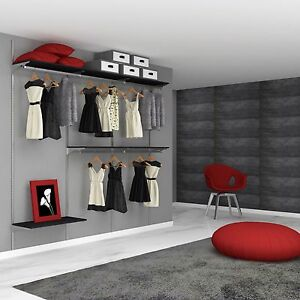Cabina armadio su misura come da foto tutto alluminio guardaroba pronta 5giorni ebay - Cabina armadio su misura ...