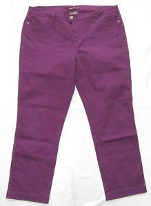 Street One 7/8tel Women Pants Women's Size 42 L26 Model Yulius State Very Good